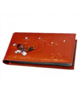 Визитница Krystall 0-524(СВ) красный