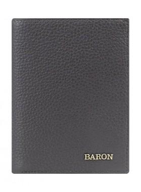 Портмоне вертикальное Baron 0-18В фр корич