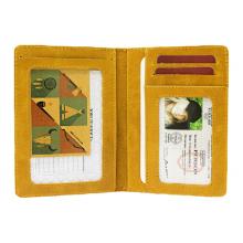 Бумажник водителя натуральная кожа ОВ-А табачно-желтый Аpache