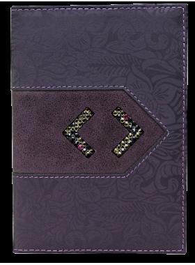 Женский бумажник водителя БС-12 lancetta темно-фиолетового цвета Kniksen