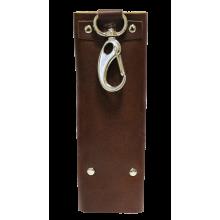Ключница для ключей кожаная КБ-А коричневый Apache