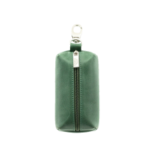 Футляр для ключей из кожи женский С-КМ-1 друид зеленый Флауэрс