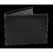 Портмоне МК-2-L черного и серого цвета limited Apache