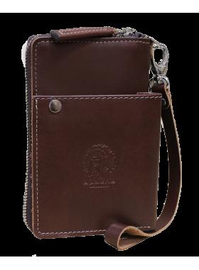 Портмоне МК-S-9 коричневое Apache RFID