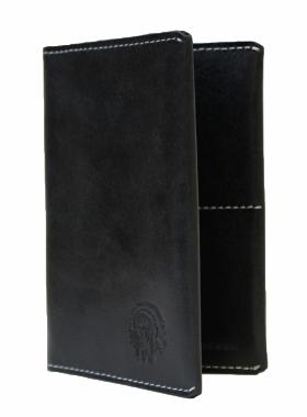 Обложка на паспорт ОП-2-A дымчато-черная Apache