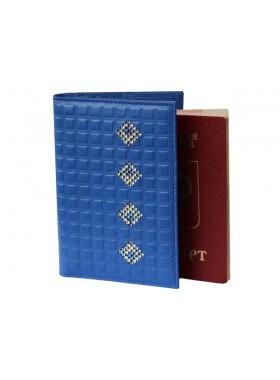 Обложка для паспорта ОП-16 Ice Blue Kniksen