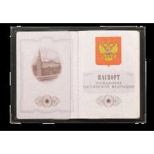 Обложка для паспорта Россия ОП-3 рус. Person
