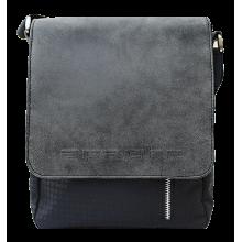 Мужская сумка планшет СМ-4015-А комби серая Apache