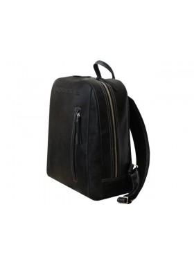 Рюкзак большой P-9113-A дымчато-черный Apache
