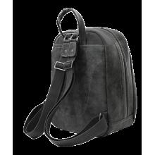Городской модный рюкзак P-9014-A искусственная кожа серый Apache