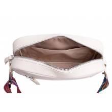 Женская сумка кросс боди натуральная кожа Libellula бежевый Person