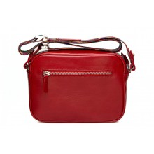 Женская сумка кросс боди натуральная кожа Libellula красный Person