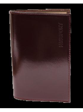 Обложка для паспорта СТ-ПО-2 Г бургундия Старк